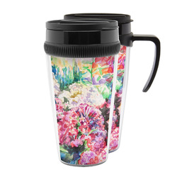 Watercolor Floral Acrylic Travel Mugs