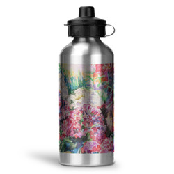 Watercolor Floral Water Bottle - Aluminum - 20 oz