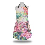 Watercolor Floral Apron