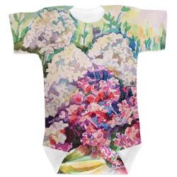 Watercolor Floral Baby Bodysuit