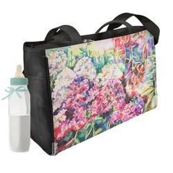 Watercolor Floral Diaper Bag