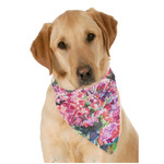 Watercolor Floral Dog Bandana Scarf