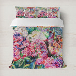 Watercolor Floral Duvet Covers