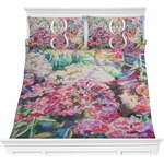 Watercolor Floral Comforter Set