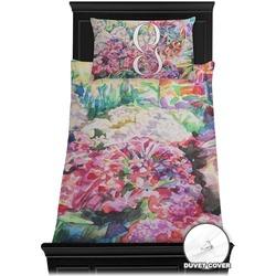 Watercolor Floral Duvet Cover Set - Toddler