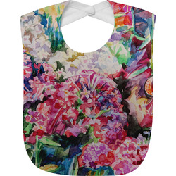 Watercolor Floral Baby Bib