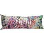 Watercolor Floral Body Pillow Case