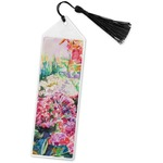 Watercolor Floral Book Mark w/Tassel