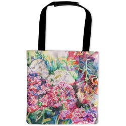 Watercolor Floral Auto Back Seat Organizer Bag