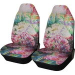 Watercolor Floral Car Seat Covers (Set of Two)