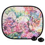 Watercolor Floral Car Side Window Sun Shade