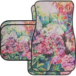 Watercolor Floral Car Floor Mats