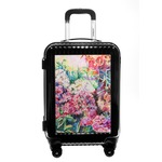 Watercolor Floral Carry On Hard Shell Suitcase