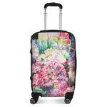 Watercolor Floral Suitcase