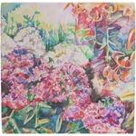 Watercolor Floral Ceramic Tile Hot Pad