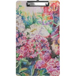 Watercolor Floral Clipboard (Legal Size)