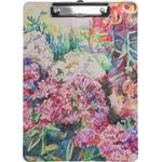 Watercolor Floral Clipboard