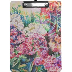 Watercolor Floral Clipboard