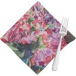 Watercolor Floral Napkins (Set of 4)