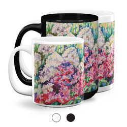 Watercolor Floral Coffee Mugs