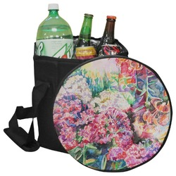 Watercolor Floral Collapsible Cooler & Seat