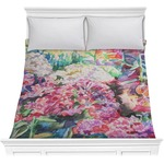 Watercolor Floral Comforter