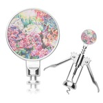 Watercolor Floral Corkscrew