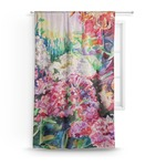 Watercolor Floral Curtain