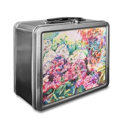 Watercolor Floral Lunch Box
