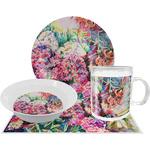 Watercolor Floral Dinner Set - 4 Pc