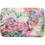 Watercolor Floral Dish Drying Mat