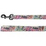 Watercolor Floral Deluxe Dog Leash