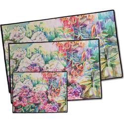 Watercolor Floral Door Mat