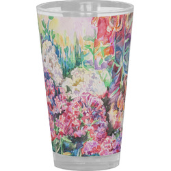 Watercolor Floral Drinking / Pint Glass