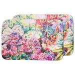 Watercolor Floral Dish Drying Mat