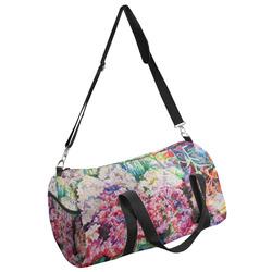 Watercolor Floral Duffel Bag - Multiple Sizes