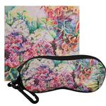 Watercolor Floral Eyeglass Case & Cloth