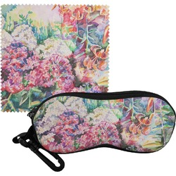 Watercolor Floral Eyeglass Case & Cloth