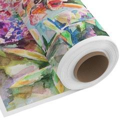 Watercolor Floral Custom Fabric - PIMA Combed Cotton