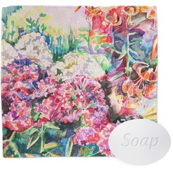 Watercolor Floral Washcloth