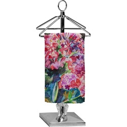 Watercolor Floral Finger Tip Towel - Full Print