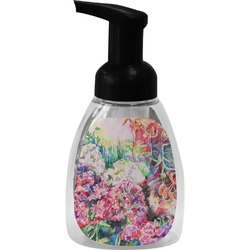Watercolor Floral Foam Soap Dispenser