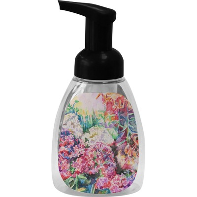 Watercolor Floral Foam Soap Dispenser