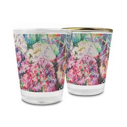 Watercolor Floral Glass Shot Glass - 1.5 oz