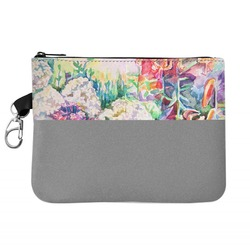 Watercolor Floral Golf Accessories Bag