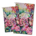 Watercolor Floral Golf Towel - Full Print