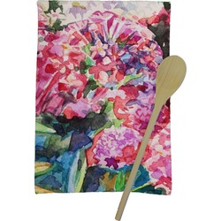 Watercolor Floral Kitchen Towel - Full Print