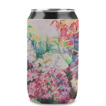 Watercolor Floral Can Sleeve (12 oz)