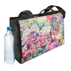 Watercolor Floral Ladies Workout Bag