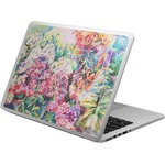 Watercolor Floral Laptop Skin - Custom Sized